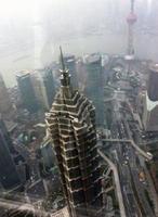 上海の高層ビルからの展望