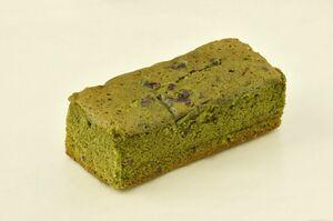 新緑の季節に合わせて北島が販売している季節限定の洋菓子「濃厚抹茶ケーキ」