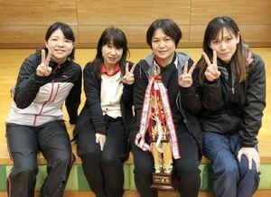 第68回ミニバレーボール交流会女子B優勝のTOMMY