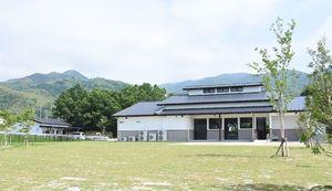 20日にオープンする「吉野ヶ里町里山ふれあい広場」=吉野ヶ里町松隈