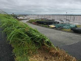 台風8号、佐賀県内6日昼に最接近