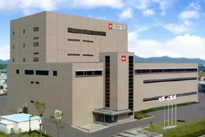 新工場建設を決めた東洋新薬の本部=鳥栖市弥生が丘