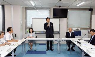 <佐賀豪雨>県税減免方針を確認 復旧・復興本部が初会合
