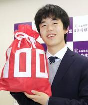 将棋の藤井七段、最速100勝