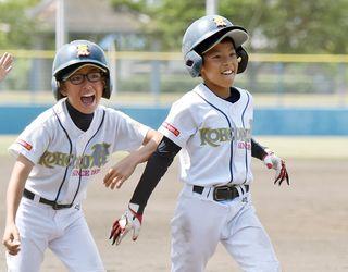 学童軟式野球 江北少年など4強