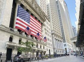 NY株反落、410ドル安