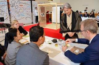国連本部で日本が茶会開催