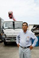 重機とともに被災地へ 西九通運社長・古川さん復旧ボランテ…