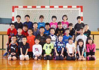 <めざせ栄冠>武雄ハンドボールクラブ