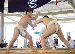 山中(唐津市)V 相撲 県選手権・女子選手権