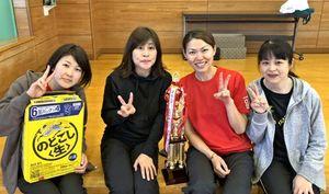 第65回ミニバレーボール交流会 女子B優勝のCherry(2)