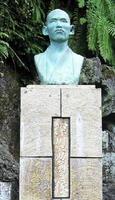1958年建立の深川六助翁像