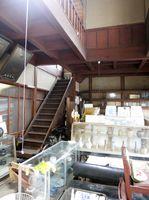 齊藤商店の吹き抜け=佐賀県教育委員会提供