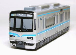 名古屋市交通局が地下鉄鶴舞線の開業40年を記念し、同線の車両をモデルにした時計
