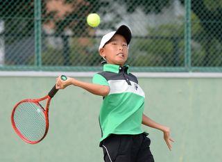 木下・ファインと櫻屋ジュニアV 学童五輪テニス