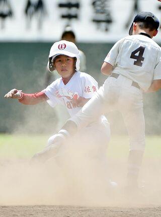 大川少年、一歩及ばず 序盤の失点悔やむ NTT西日本杯少年野球・決勝
