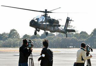 <陸自ヘリ墜落>同型機の飛行再開 目達原駐屯地内で、2年1カ月ぶり