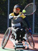 車いすテニス・大谷選手(かんぽ生命)、全米オープン初出場…