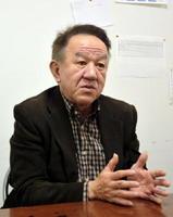 【岡本憲幸陣営】選挙対策本部長 古賀和裕氏(61)