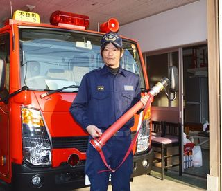 若手団員からひとこと(19)太良町消防団第1分団第3部・森川智博さん