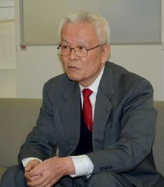 出馬の志佐氏「原発の再稼働認めない」