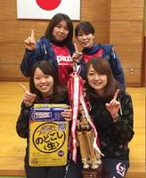 第51回ミニバレーボール交流会 女子A優勝のBECKY2