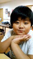 虹の松原の事故で亡くなった当時小学5年の川﨑辿皇君。写真は小学3年生の頃(明日香さん提供)