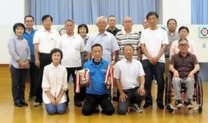 スポーツ吹き矢 佐賀ヤマトスポーツ吹き矢クラブ9月例会の参加者