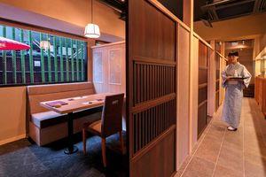 上峰町がアンテナショップをオープンした日本料理店「猩々」。町産の佐賀牛や米を使った料理が楽しめる=東京都港区南青山