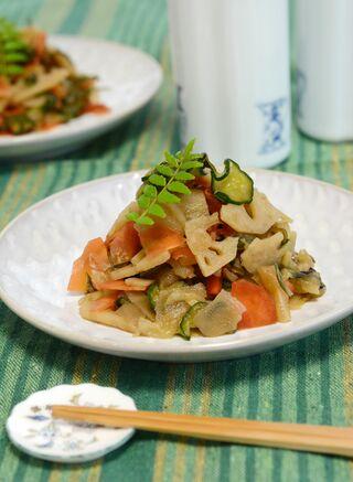 レシピ「福神漬け−菊芋入り」