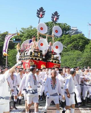 復興願い、熊本で特別運行