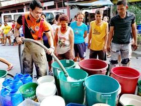 マニラで大規模な計画断水