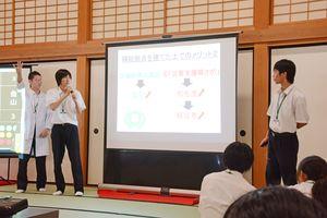 佐賀星生学園「松竹金」の生徒たち