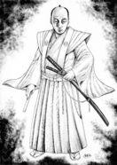 漫画「キングダム」の原さん、鍋島直正公を描き下ろし