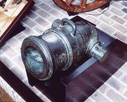 国重要文化財に指定された武雄市所蔵のモルチール砲=武雄市歴史資料館