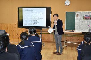 さが維新塾(27)東原庠舎中央校(多久市) で出前授業