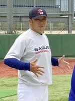 西部ガスの香田誉士史監督
