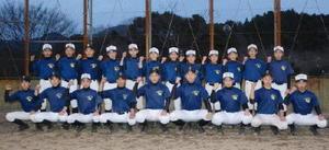 全国大会での躍進を目指す佐賀東松ボーイズの選手たち=唐津市相知町の天徳の丘運動公園グラウンド