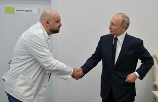プーチン大統領に接触の医長感染