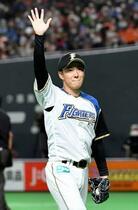 日本ハムの斎藤佑樹、最後は四球