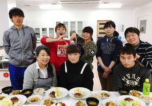 佐賀環境フォーラム・ワークショップフードロス班のメンバー