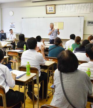 「通信制も選択肢の一つに」支援学級生徒が敬徳高を見学