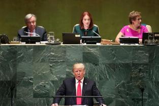 米大統領、グローバリズム拒絶