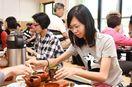 台湾人観光客と煎茶交流