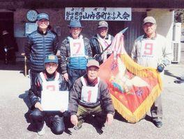 第317回山内各町GB大会で優勝した弓野チーム