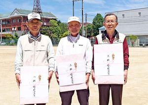 第12回佐賀新聞太良杯GG個人選手権の上位入賞者