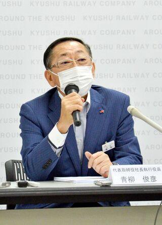 <新幹線長崎ルート>JR九州社長、22年秋「あくまで部分開業」