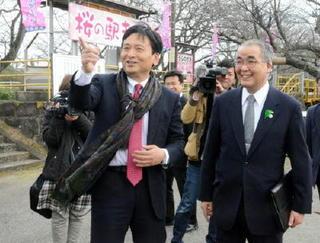 佐賀、長崎知事 「維新博」、MR沿線活性化で連携
