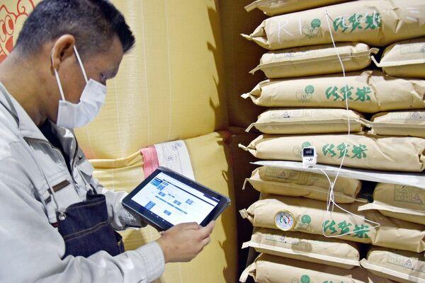 米麦倉庫をコンピューター管理 JA建設クリエイトさが 新システム導入