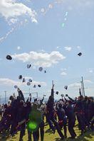 39人〝いざ大海原へ〟 唐津海技学校で卒業式